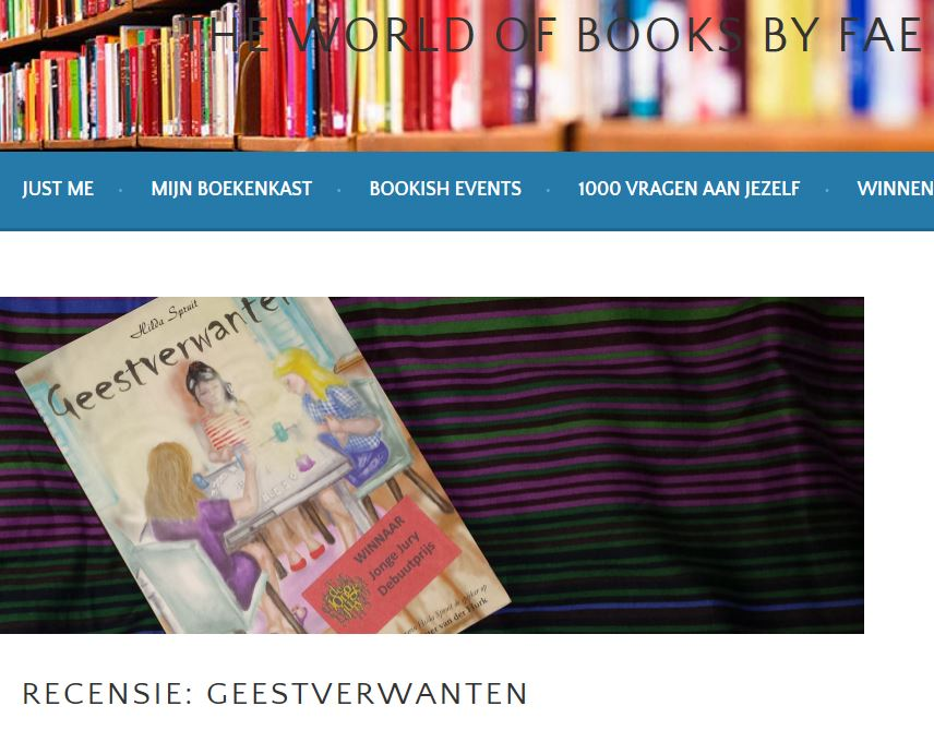 The World of Books By Fae over Geestverwanten